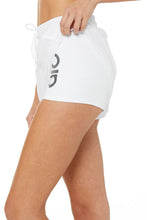 Load image into Gallery viewer, Alo Yoga SMALL Ambience Short - White/White