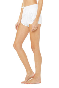 Alo Yoga SMALL Ambience Short - White/White