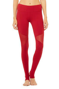 Alo Yoga Coast Legging - Crimson