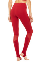 Load image into Gallery viewer, Alo Yoga Coast Legging - Crimson