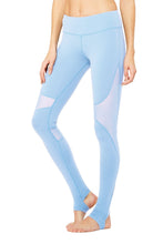 Load image into Gallery viewer, Alo Yoga Coast Legging - UV Blue
