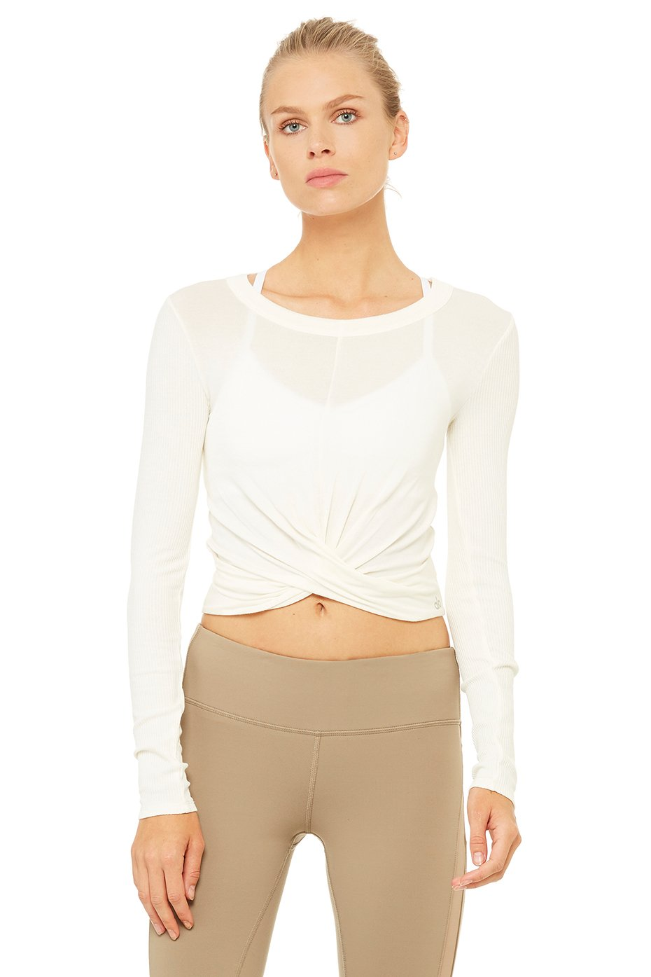 Alo Yoga Cover Long Sleeve Top - Pristine