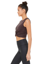 Load image into Gallery viewer, Alo Yoga Cover Tank - Raisin