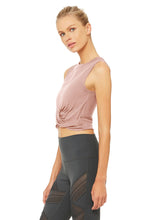 Load image into Gallery viewer, Alo Yoga Cover Tank - Smoky Quartz