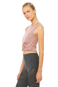 Alo Yoga Cover Tank - Smoky Quartz
