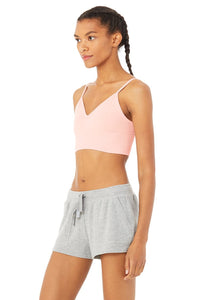 Alo Yoga MEDIUM Delight Bralette - Pink Mauve