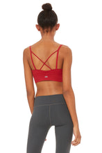 Load image into Gallery viewer, Alo Yoga Deluxe Bra - Crimson