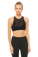 Load image into Gallery viewer, Alo Yoga Empower Bra - Black