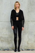 Load image into Gallery viewer, Alo Yoga XS Fadeaway Jacket - Black