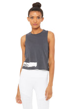 Load image into Gallery viewer, Alo Yoga Flow Tank Alo Brushed - Anthracite