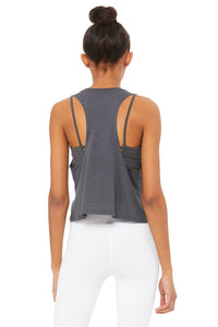 Alo Yoga Flow Tank Alo Brushed - Anthracite
