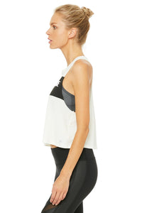 Alo Yoga Flow Tank Mindful Movement - Pristine