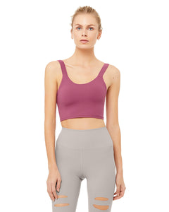 Alo Yoga SMALL Fortify Bra Tank - Dragonfruit