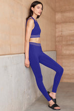 Load image into Gallery viewer, Alo Yoga XS High-Waist Gaze Legging - Sapphire