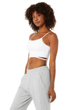 Load image into Gallery viewer, Alo Yoga XS Halo Bra Tank - White
