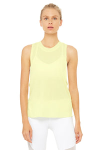 Alo Yoga Heat-Wave Tank - Citrine