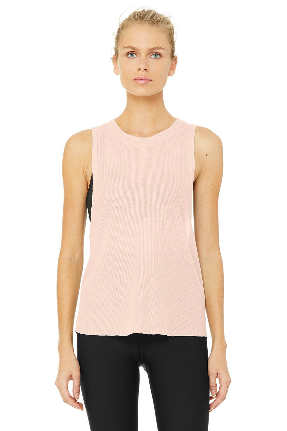 Alo Yoga Heat-Wave Tank - Nectar