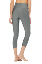 Load image into Gallery viewer, Alo Yoga High-Waist Airlift Capri - Concrete