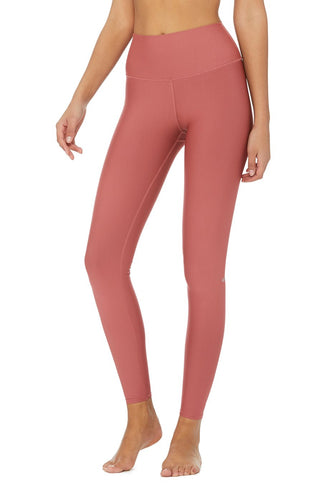 a0163447919f9d Alo Yoga High-Waist Airlift Legging - Rosewood
