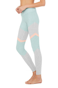 Alo Yoga High-Waist Alosoft Sheila Legging - Cloud Heather