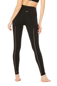Alo Yoga High-Waist Dash Legging - Black