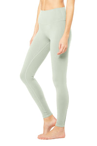 Alo Yoga High-Waist Dash Legging - Pistachio