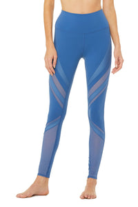 Alo Yoga High-Waist Epic Legging - Cobalt