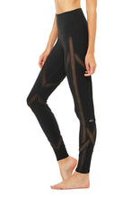 Load image into Gallery viewer, Alo Yoga High-Waist Laced Legging - Black