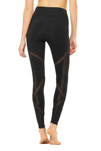 Alo Yoga High-Waist Laced Legging - Black