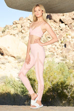 Load image into Gallery viewer, Alo Yoga High-Waist Laced Legging - Powder Pink