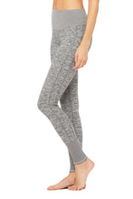 Load image into Gallery viewer, Alo Yoga Lounge Legging - Dove Grey Heather