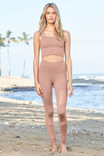 Load image into Gallery viewer, Alo Yoga XS High-Waist Moto Legging - Smoky Quartz Glossy
