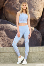 Load image into Gallery viewer, Alo Yoga High-Waist Seamless Legging - UV Blue