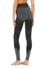 Load image into Gallery viewer, Alo Yoga SMALL High-Waist Seamless Lift Legging - Anthracite Heather