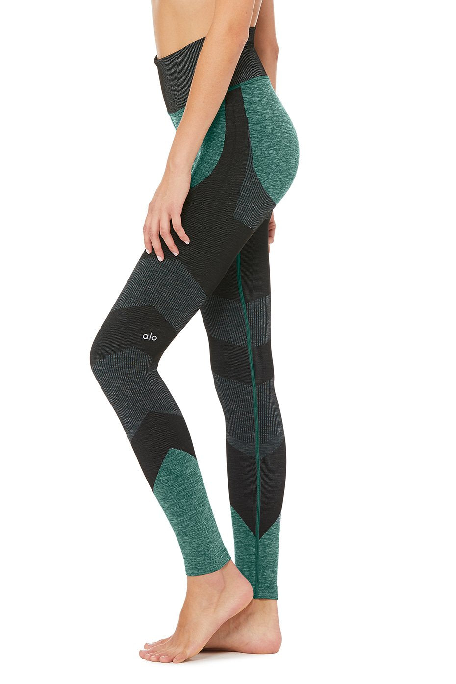 6eecaef8d863df ... Alo Yoga SMALL High-Waist Seamless Lift Legging - Tourmaline Heather ...