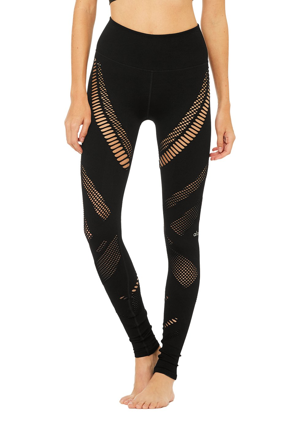 7e412d6fb8 Alo Yoga High-Waist Seamless Radiance Legging - Black – Soulcielite