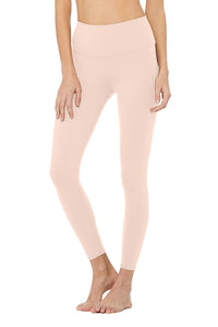 Alo Yoga XXS High-Waist Airbrush Legging - Nectar