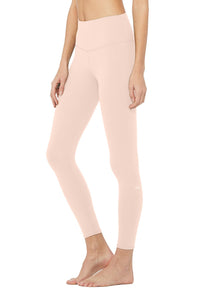 Alo Yoga XS High-Waist Airbrush Legging - Nectar