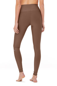 Alo Yoga SMALL High-Waist Airlift Legging - Coco