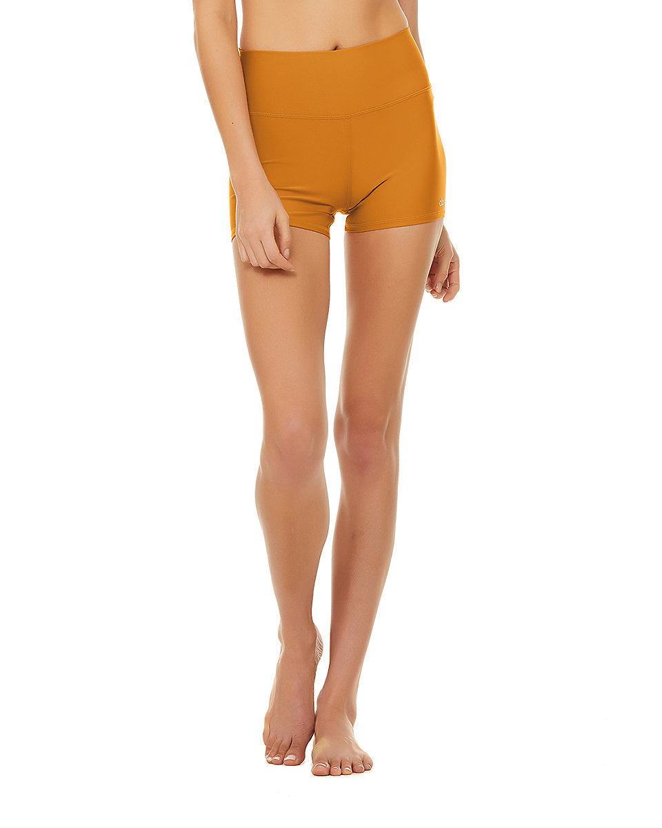 Alo Yoga SMALL High-Waist Airlift Short - Bronzed