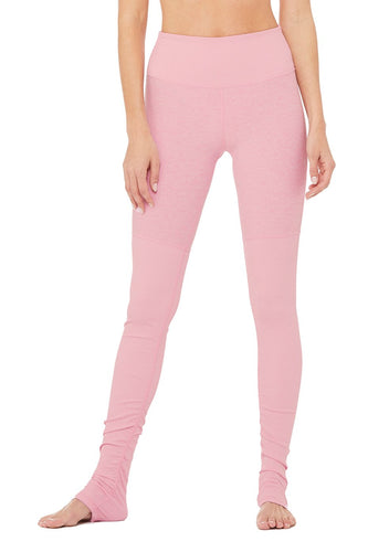 4d4a469471942b Alo Yoga High-Waist Alosoft Goddess Legging - Flamingo Heather