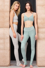 Load image into Gallery viewer, Alo Yoga Lounge Legging - Seagrass Heather