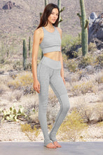 Load image into Gallery viewer, Alo Yoga High-Waist Alosoft Goddess Legging - Zinc Heather