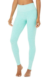 Alo Yoga XS Alosoft Lounge Legging - Blue Quartz Heather
