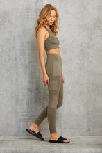 Load image into Gallery viewer, Alo Yoga SMALL High-Waist Cargo Legging - Olive Branch