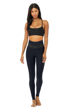 Load image into Gallery viewer, Alo Yoga XS High-Waist Fitness Legging - Dark Navy/Black