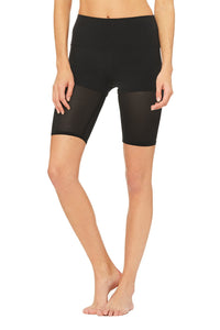 Alo Yoga XS High-Waist Lavish Short - Black