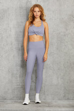 Load image into Gallery viewer, Alo Yoga XS Knot Bra - Blue Moon