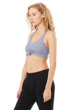 Load image into Gallery viewer, Alo Yoga SMALL Knot Bra - Blue Moon