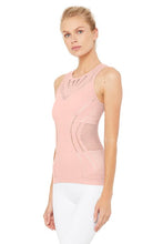 Load image into Gallery viewer, Alo Yoga SMALL Lark Tank - Pale Mauve